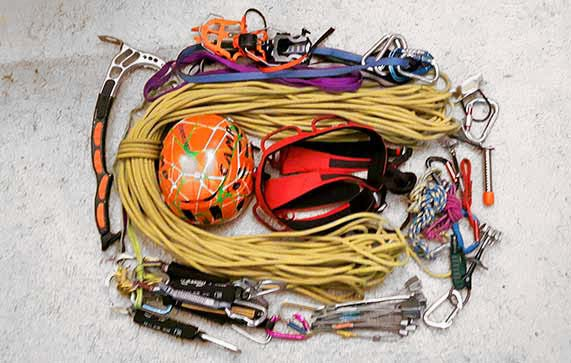 material per fer alpinisme