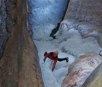 escalada en gel als pirineus