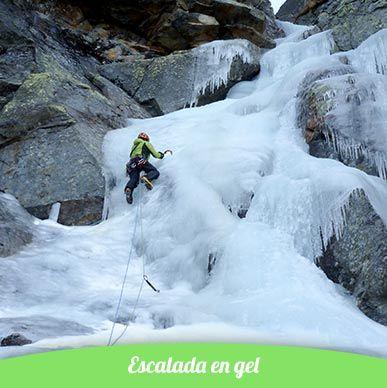 escalada en gel als pirineus de catalunya
