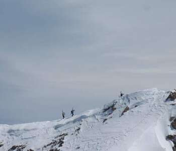 ruta d'esquí de muntanya a la cerdanya