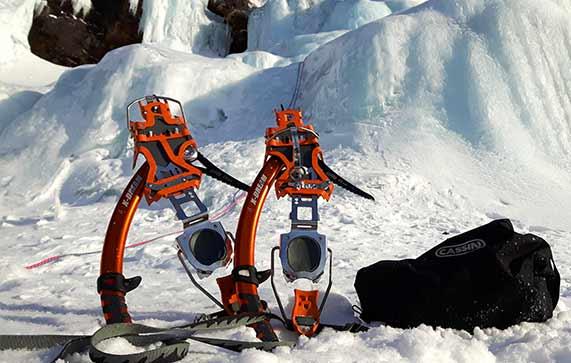 material per fer escalada en gel