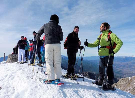 activitats de muntanya d'hivern a la molina