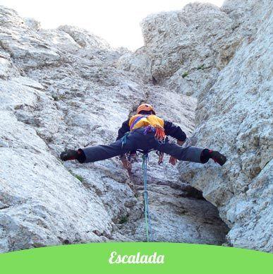 Escalada en roca pirineos