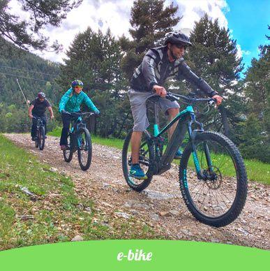E-bike pirineus